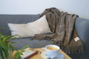 Vicarsline | Decke Schafwolle